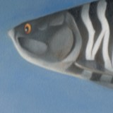 Detail from Bye Bye Little Fishes, And Thank You by Mark Sheeky