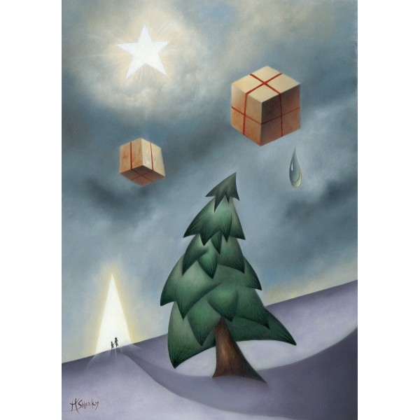 Christmas Is About Presents by Mark Sheeky