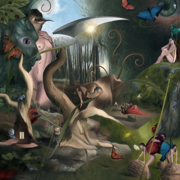The Paranoid Schizophrenia Of Richard Dadd by Mark Sheeky